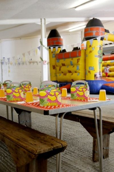 Childrens parties at Glebe Farm