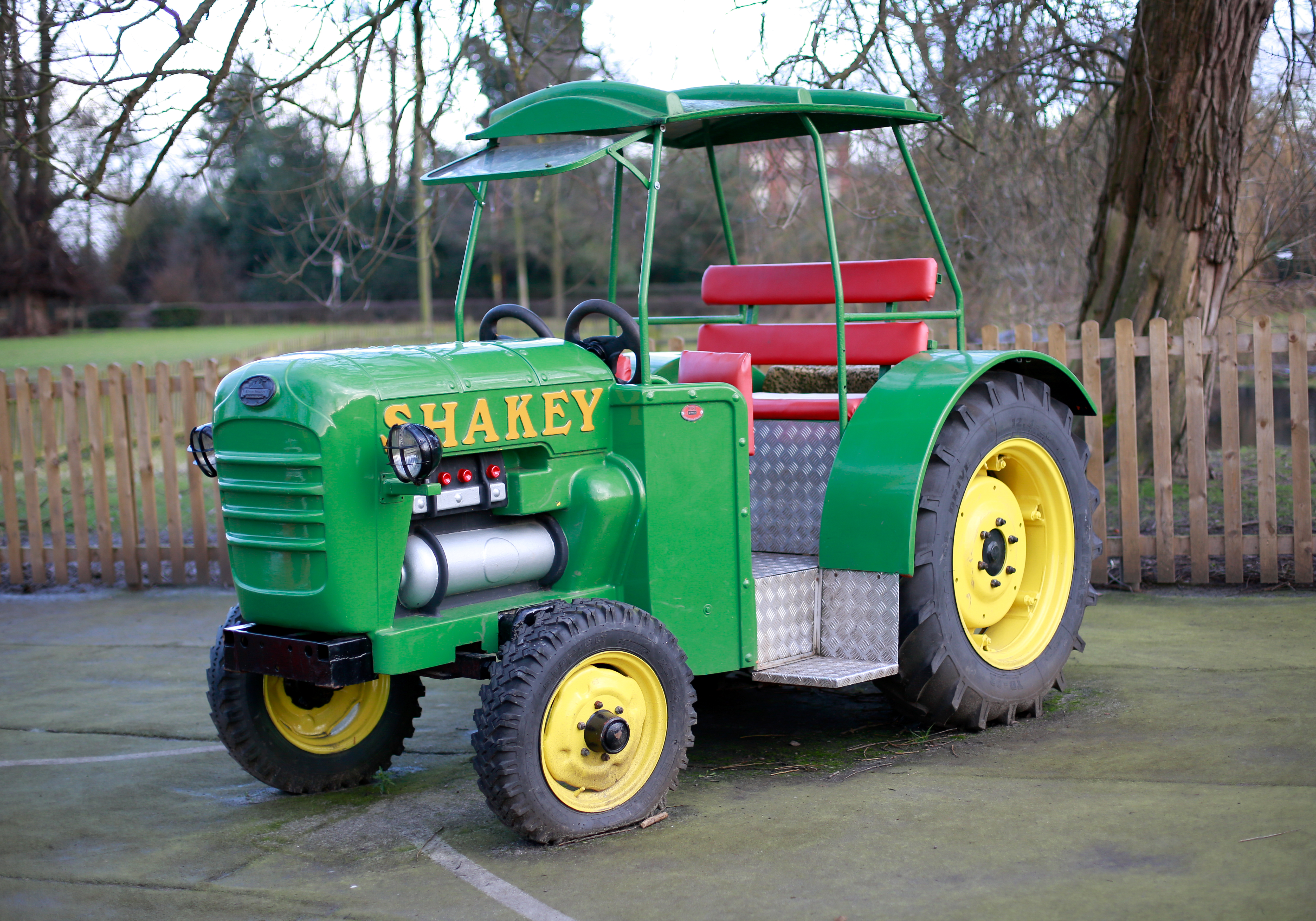 Shakey the tractor